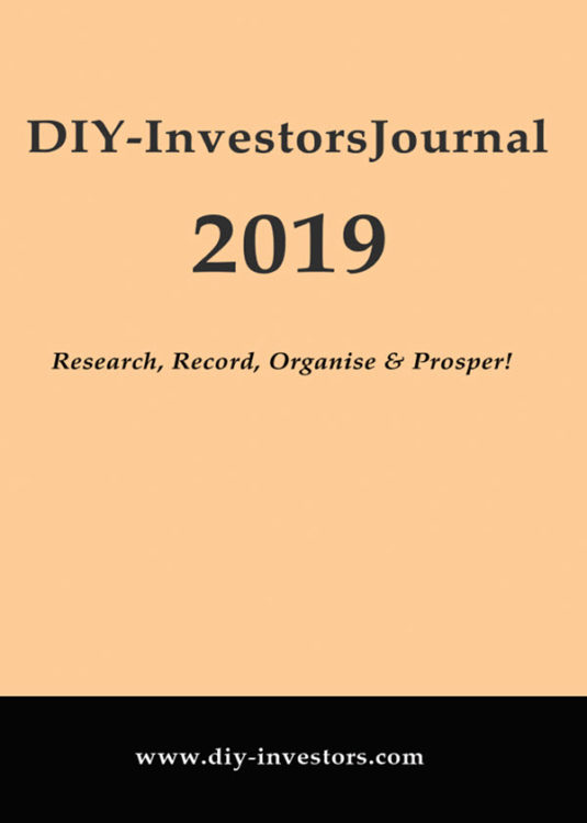 DIY-Investors 2019 Journal